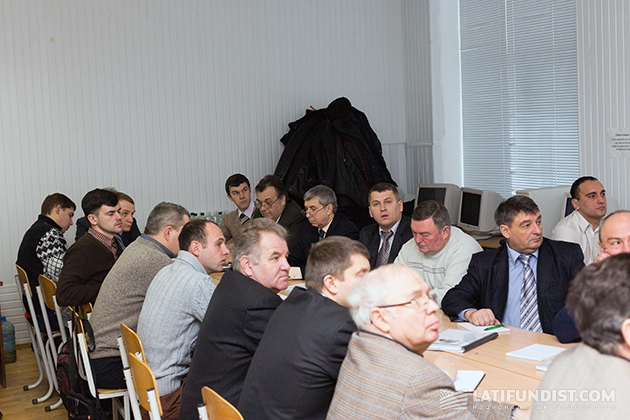 John Deere Украина «посадил за парты» преподавателей НУБИП