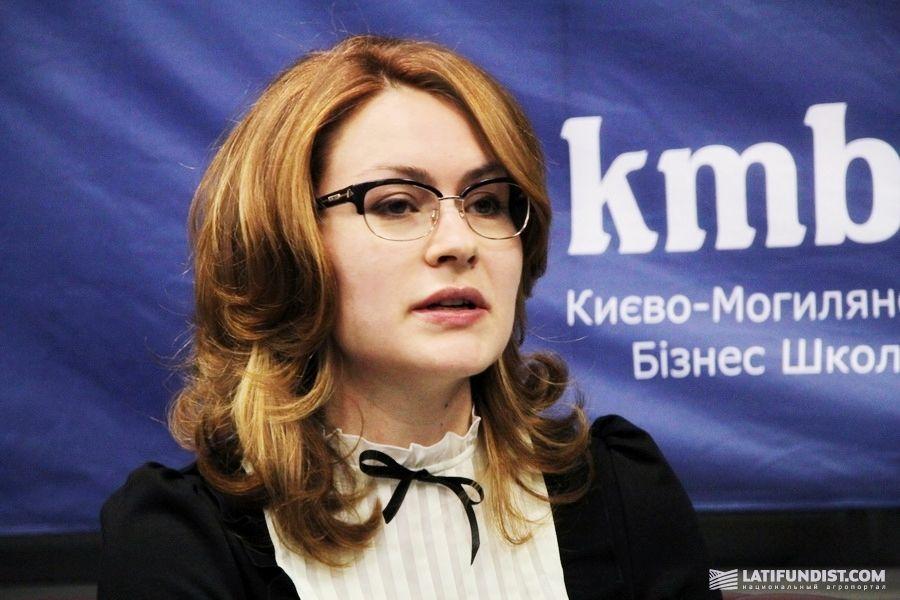 Оксана Просоленко, директор официального представительства ассоциации «Дунайская соя» в Украине