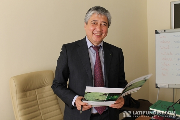 Валерий Хаджиматов, директор Научно-исследовательского института сои