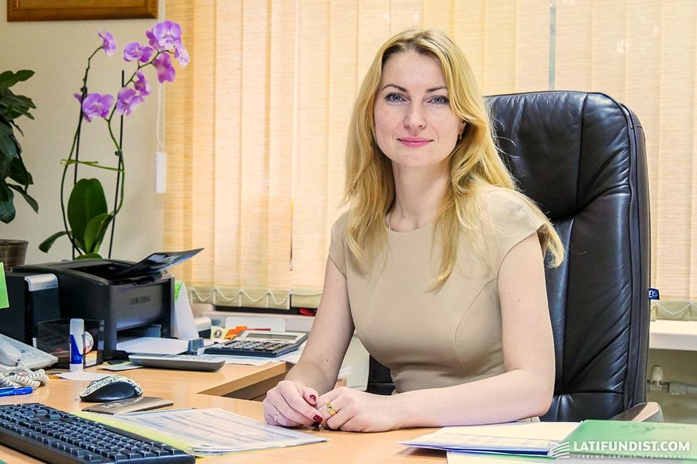 Оксана Кондратюк, финансовый директор LANDFORT