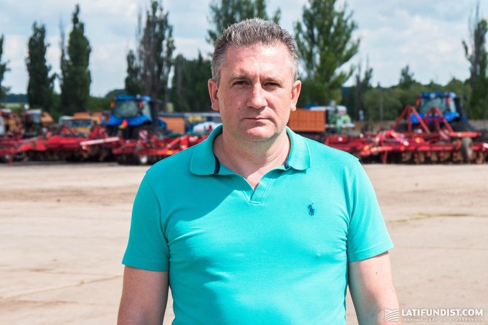 Олег Лужанский, директор «Алоинс-Агро» и «Солодководное» (LANDFORT)