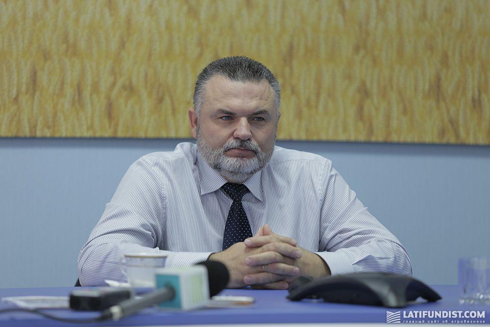 Юрий Мацак, директор «Глобинского сахарного завода»