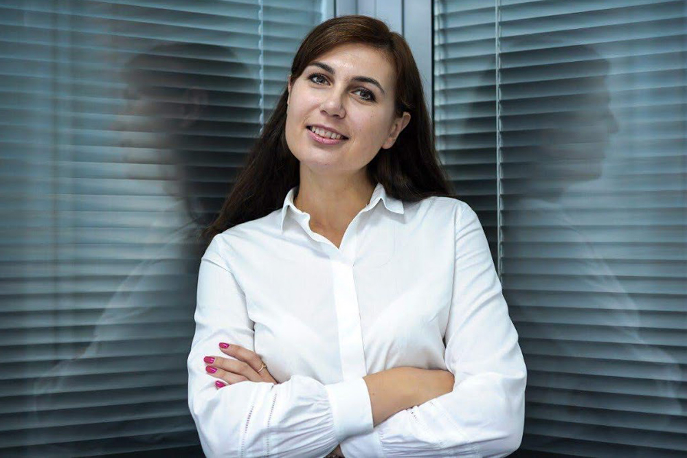Antonina Skliarenko, President of the Community of Pulse Producers and Consumers of Ukraine