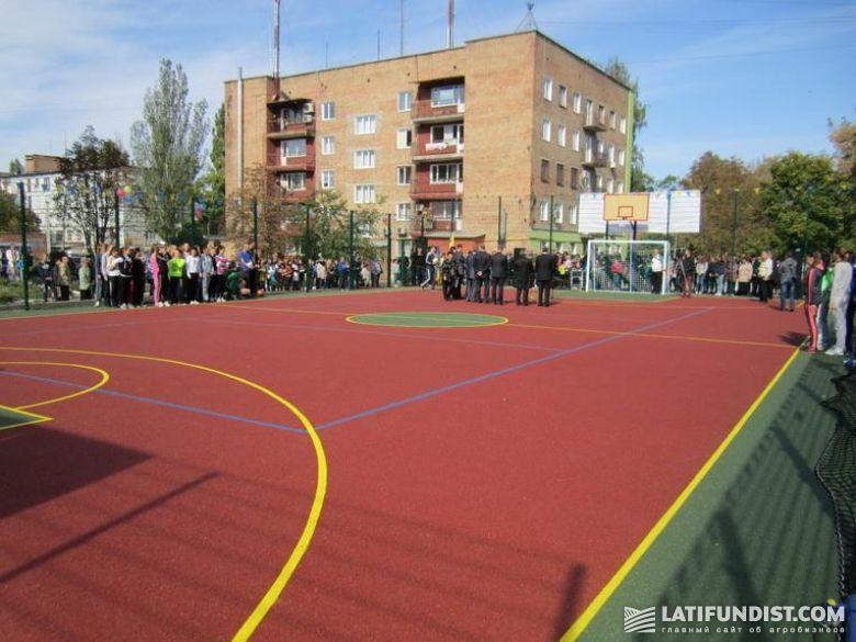 КультПросвет дружба площадка спортивная