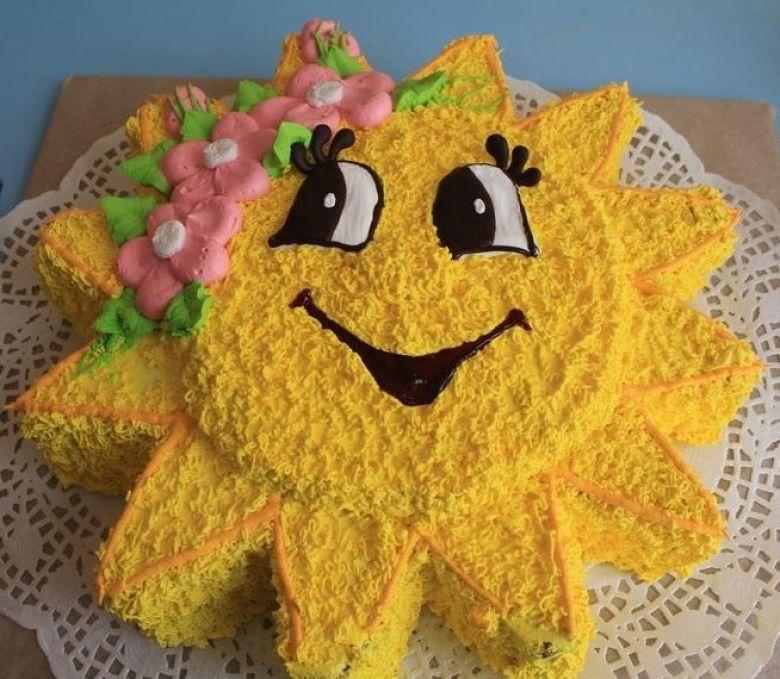 это поражением торт солнышко фото из крема увидела откровенные