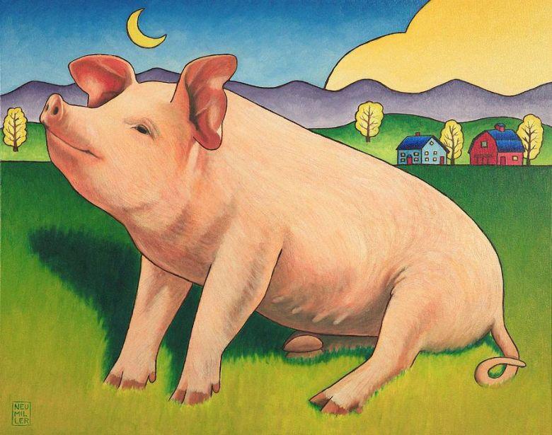 Свинка с поросятами картинки для детей