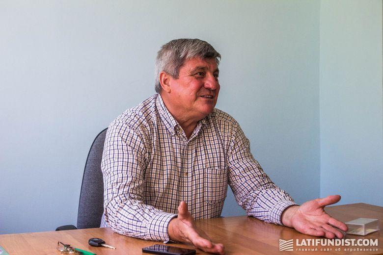 Владимир Шкирко, директор агрофирмы «Им. Т.Г. Шевченко»