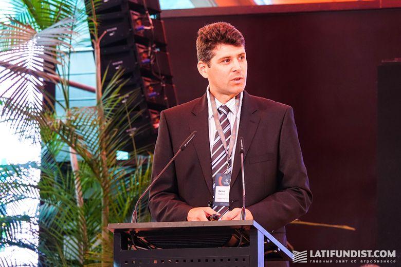 Тамас Бенко, начальник отдела торговли кукурузой в Европе и Африке в Cargill International SA, Швейцария