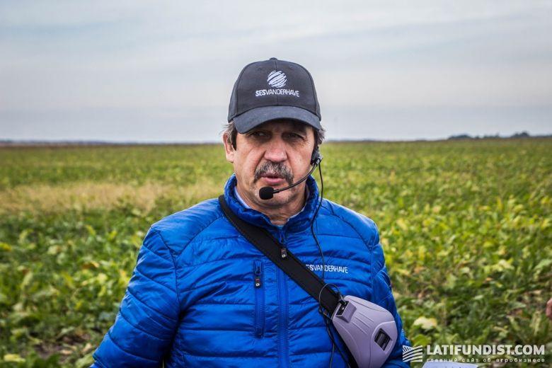 Сергей Дучак, агроном «Сесвандерхаве-Украина» рассказывает о гибридах сахарной свеклы