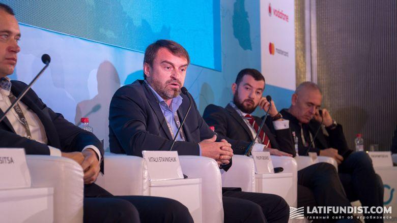 Виталий Ставничук, директор департамента производства, исследований и развития Агробизнеса «Кернел»