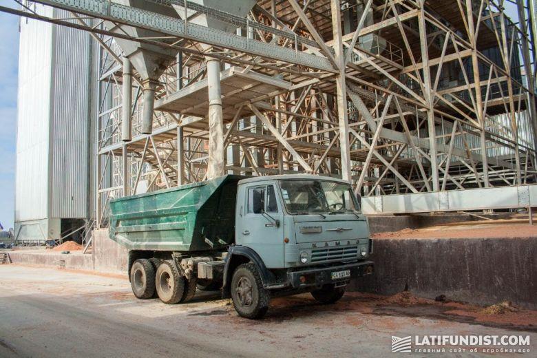 Отгрузка отходов на «Вороновицком ХПП»