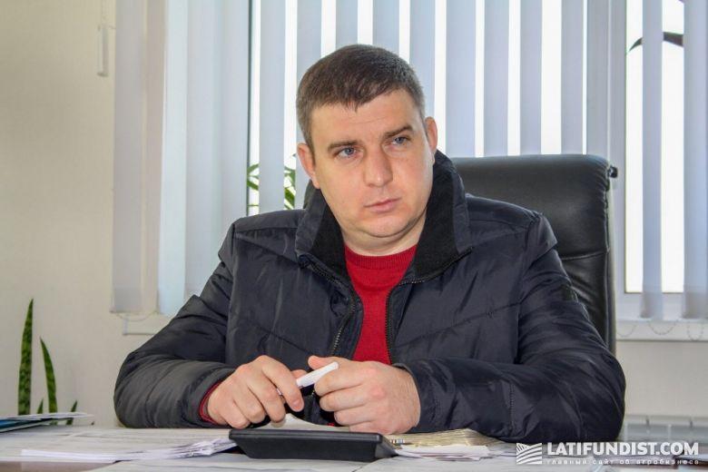 Александр Гребеник, директор «Зерновой индустрии»