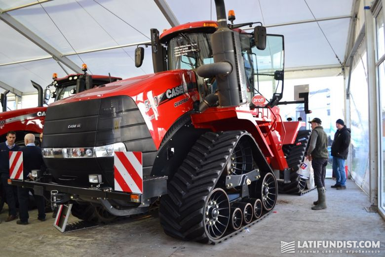 Трактор Case IH Quadtrac 540 CVX