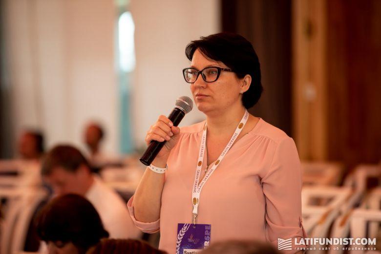 Светлана Малыш,аналитик аграрных рынков Черноморского региона Refinitiv