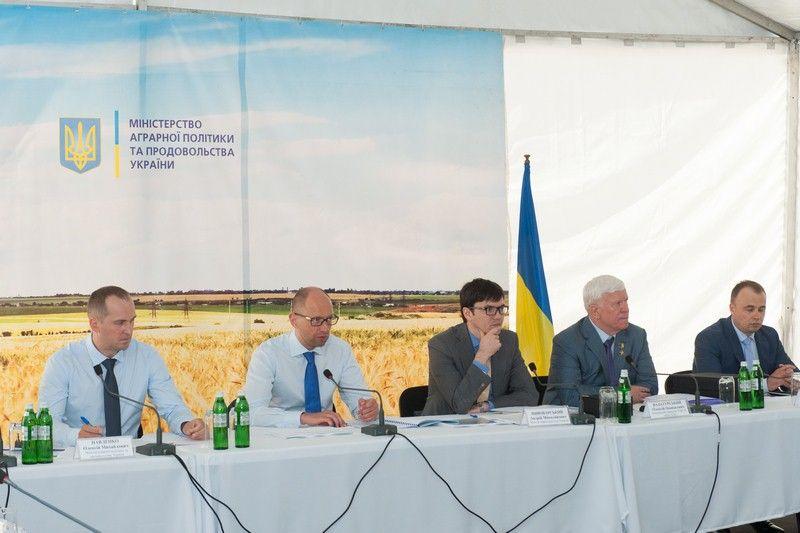 В ходе встречи на перегрузочном терминале «НИБУЛОН» в Переяслав-Хмельницком