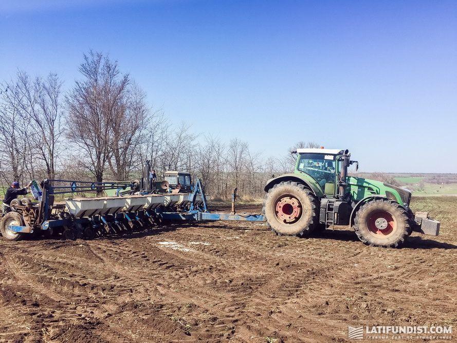 Трактор Fendt компании «Агрейн»