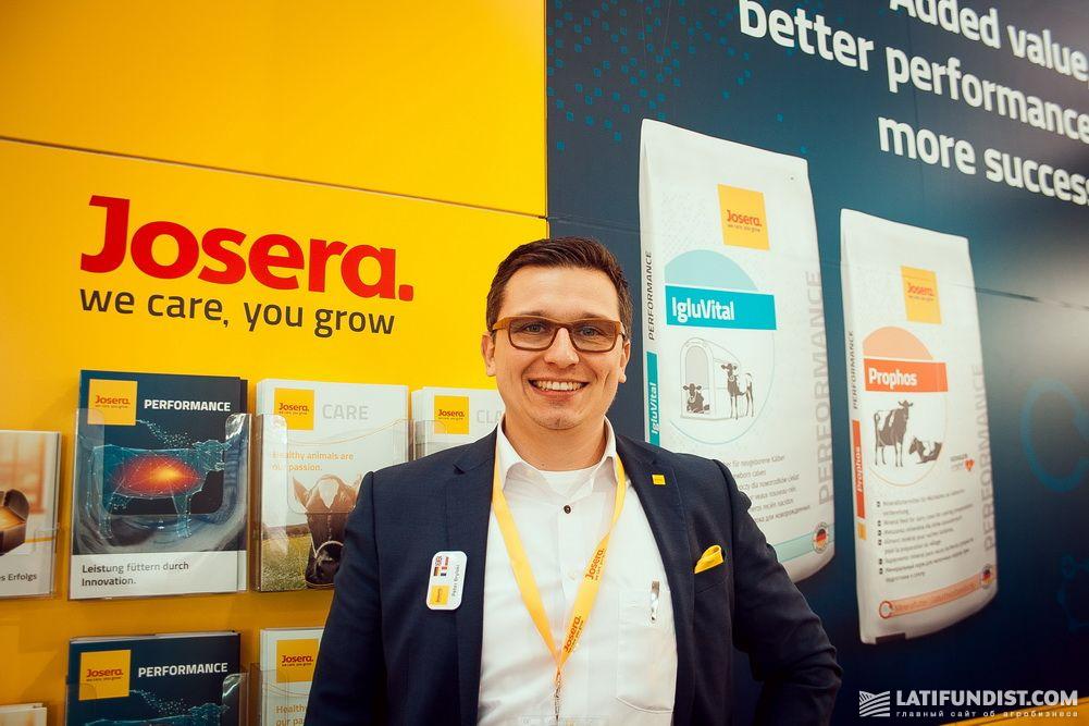Петер Брыльски, директор компании Josera Ukraine
