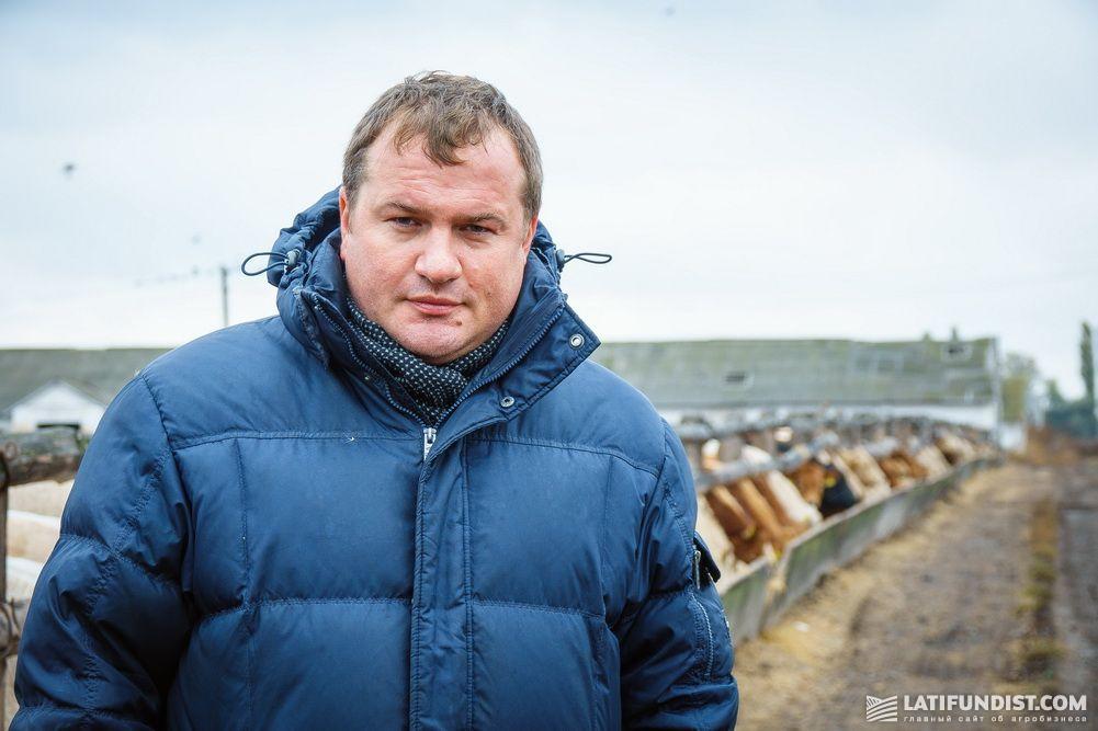 Юрий Гудзь, руководитель направления животноводства агрогруппы «Агрейн»