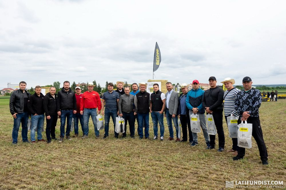 Гости Дня поля BEDNAR в Чехии