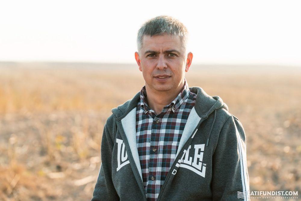 Владислав Тютюнник, руководитель департамента агропроизводственной деятельности Ukrlandfarming