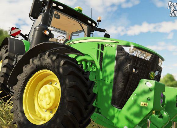 Кадры из Farming Simulator-19