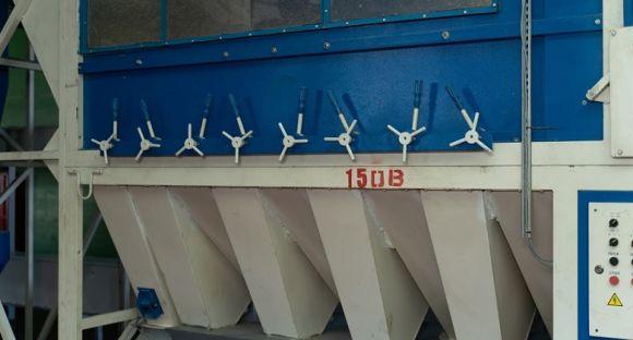 Один из сепараторов САД производства компании «АЭРОМЕХ»