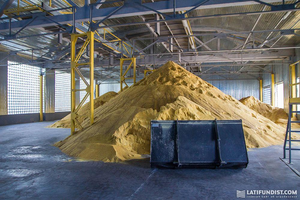 Производство ТЭП сои
