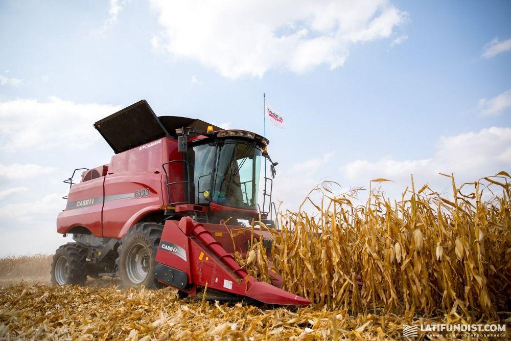 Новая техника на полях «Зернопродукт МХП»
