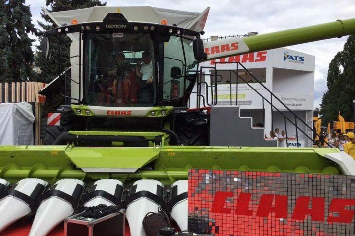 CLAAS Lexion 8700 на агропромышленной выставке «АГРО-2020»