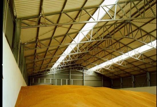 Как построить для зерна склад