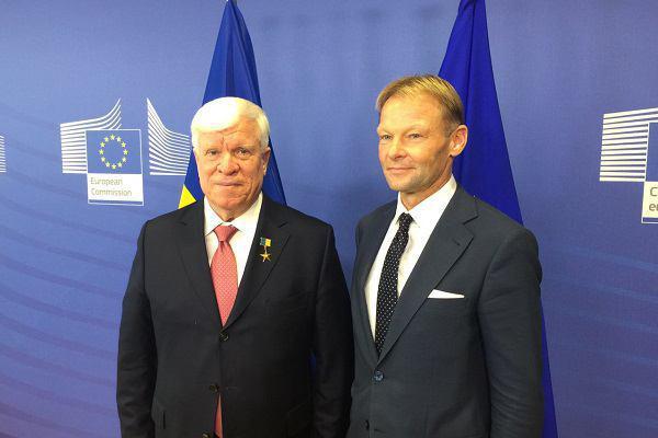 EC иУкраина подписали соглашения насумму 600 млн евро