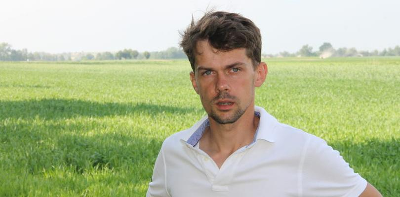 Michał Kołodziejczak, the co-founder and chairman of the Association of Potato and Vegetable Growers of Poland
