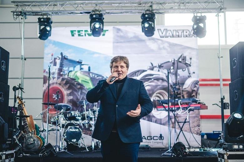 Директор по маркетингу AGCO в Восточной Европе Антон Костырко