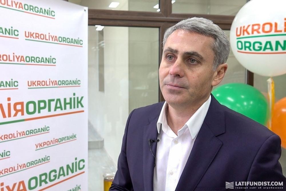 Юрий Шевченко, директор по развитию предприятия «Укролия»