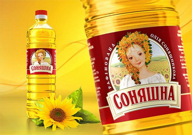 Подсолнечное масло ТМ «Соняшна»
