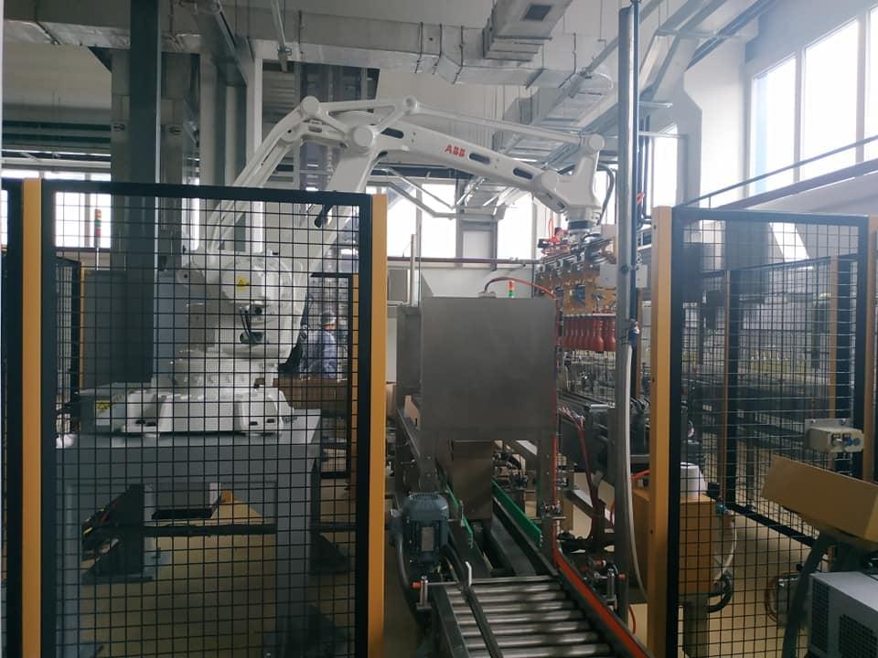 Process line at Delta Wilmar Ukraine plant