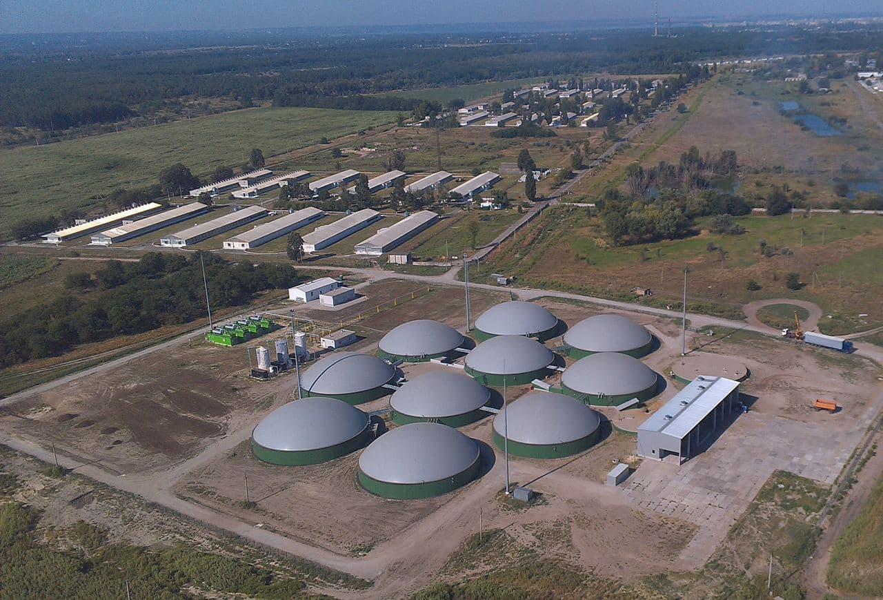 MHP biogas complex