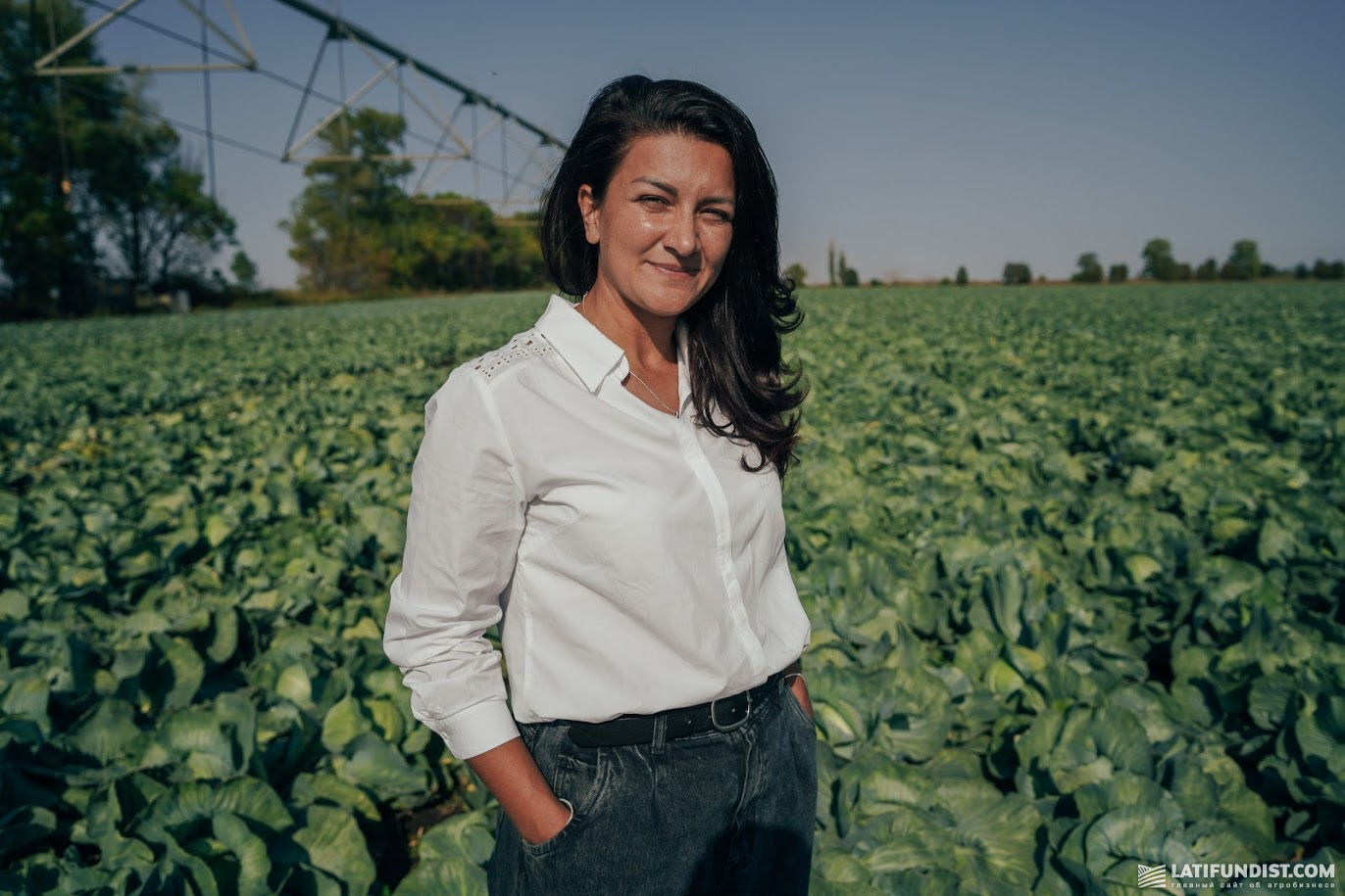 Наталья Жильникова, руководитель группы по продажам оросительных систем Valley АСА «АСТРА»