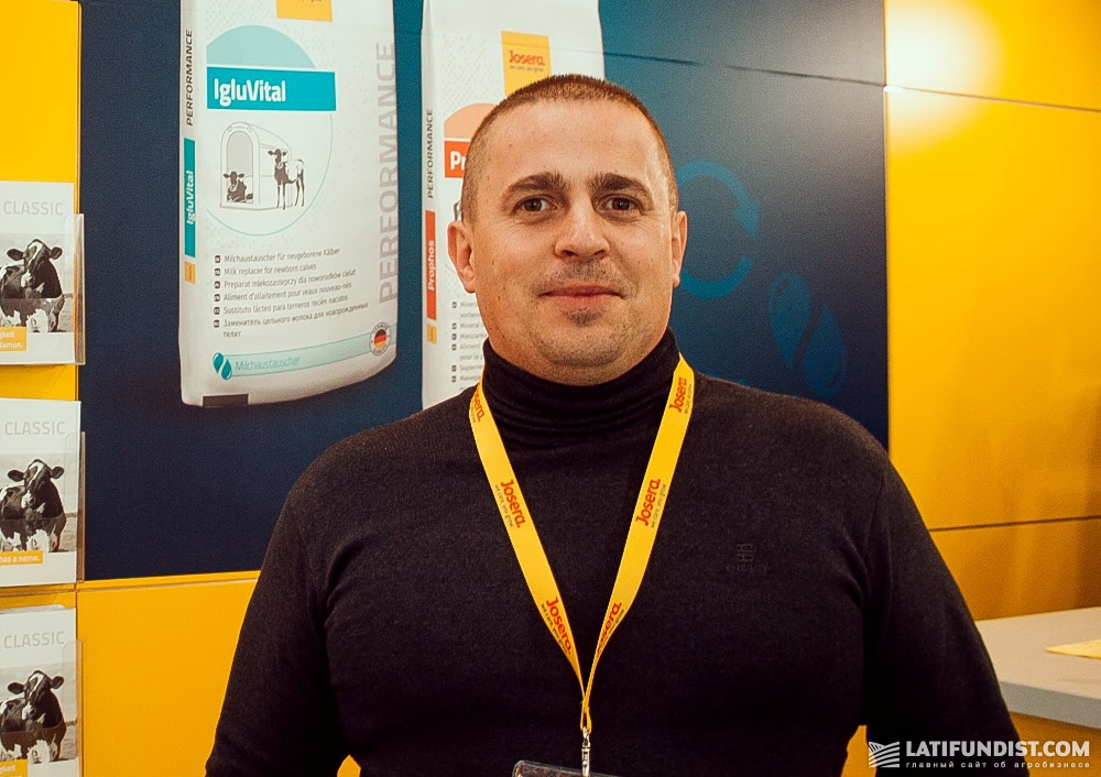 Виктор Харкавлюк, главный зоотехник компании «Зернопродукт МХП»