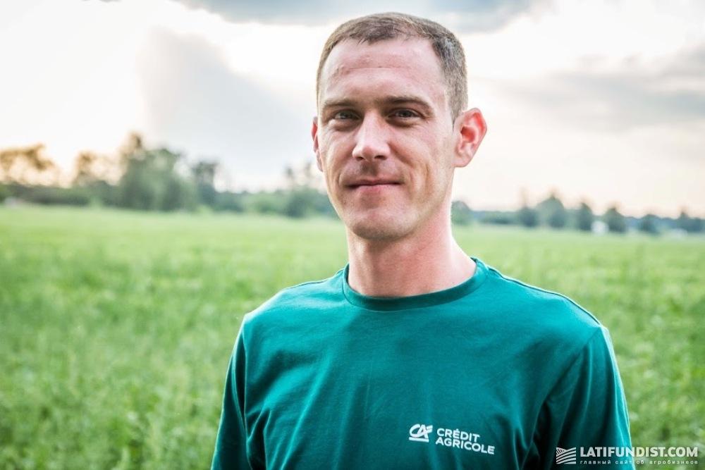 Александр Бондарь, представитель Credit Agricole Bank