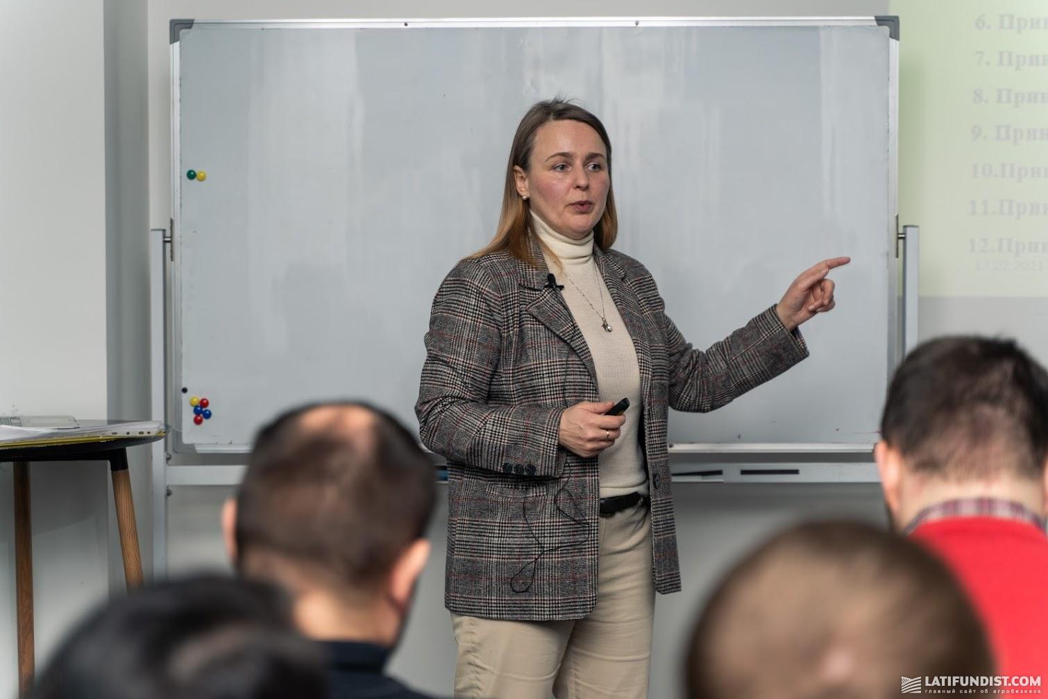 Вита Дубчак, бизнес-консультант по управлению, сертифицированный аудитор системы менеджмента безопасности пищевой продукции