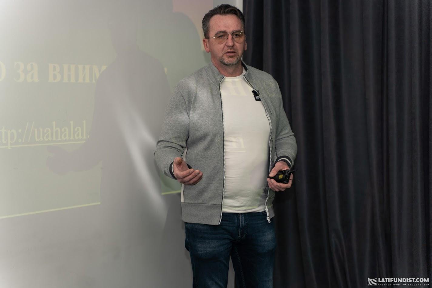 Руслан Акинчиц, руководитель Украинского Халяль Центра