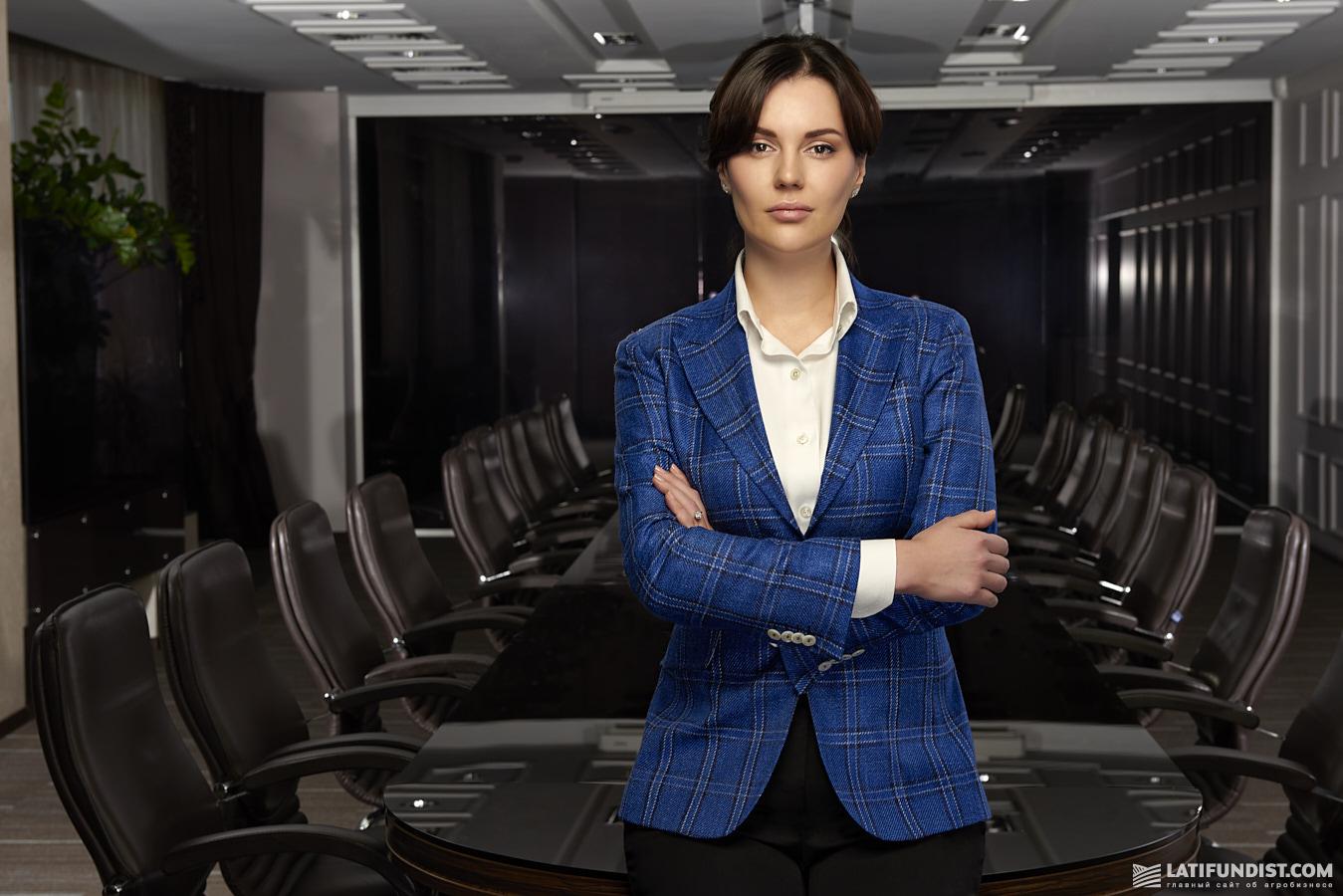 Наталья Василюк, генеральный директор компании «Авангард»