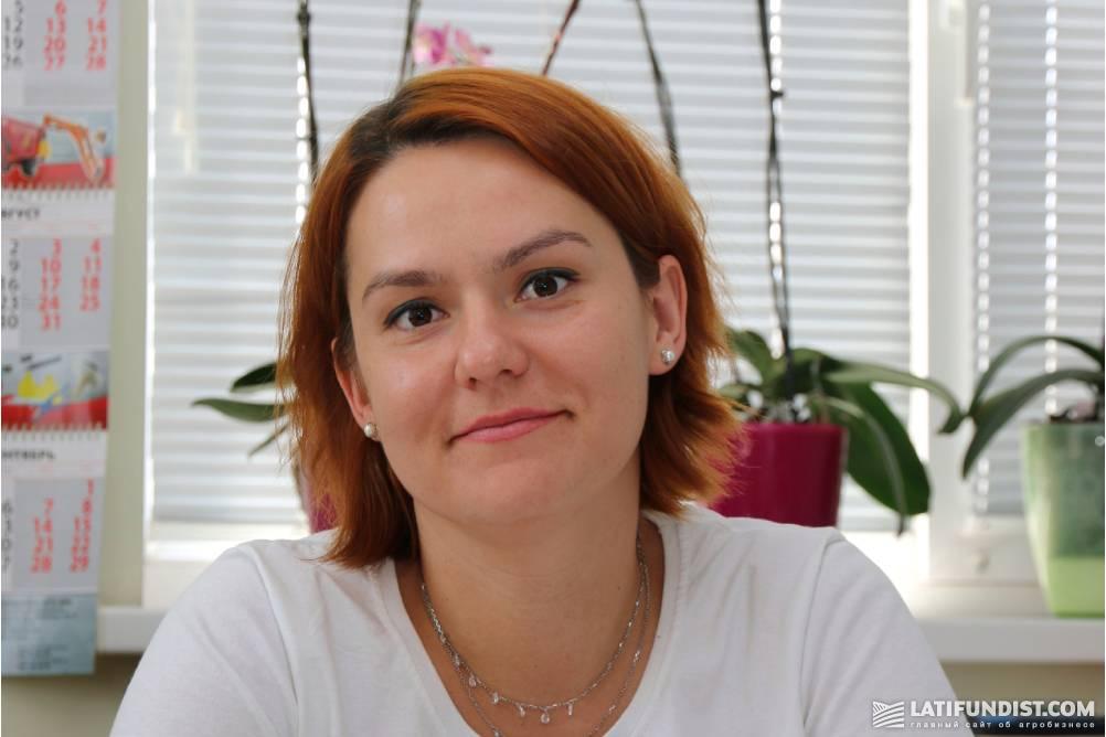 Татьяна Валанчюс, руководитель Елизаветовского филиала компании  «Орель-Лидер»