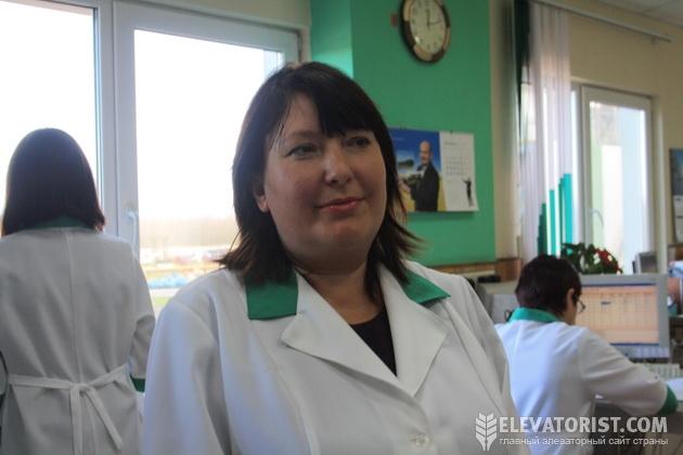 Заведующая лабораторий Алла Лякутина