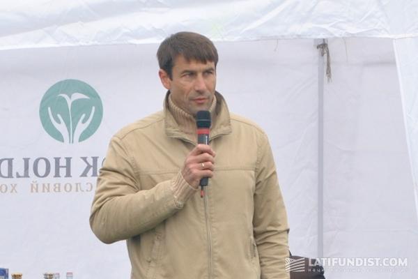 Продукт-менеджер фирмы Claas по зерноуборочным комбайнам Игорь Куприненко