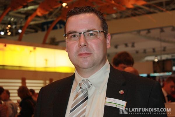 директор по продажам и маркетингу John Deere Украина Карстен Хефтриг