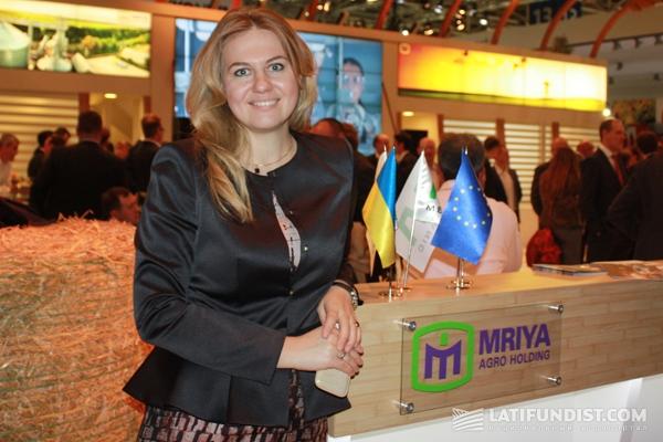Владислава Рутицкая, заместитель Генерального директора «Мрия Агрохолдинг»