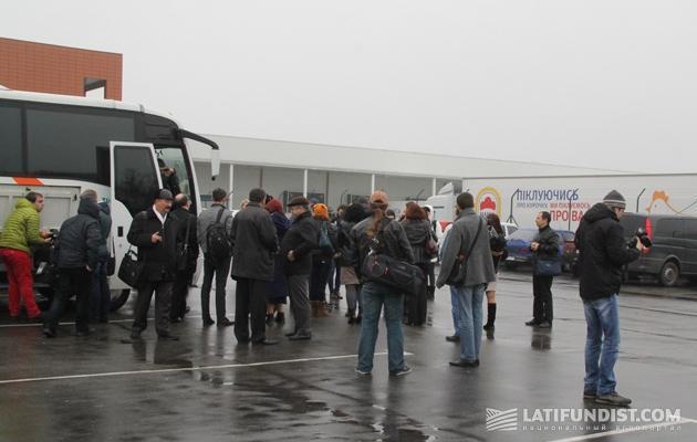 Десант СМИ прибыл на Мироновскую птицефабрику МХП