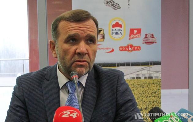 Глава совета директоров Ассоциации «Союз птицеводов Украины» Александр Бакуменко